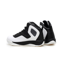 2018 New fashion design high cut sport basketball shoes for men with custom logo