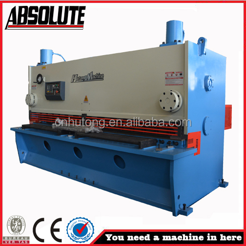 NC inclinación inclinación tijeras QC12K-20x2500 NC hidráulica hidráulica tijeras Modelo Fabricantes de fabricación, proveedores, exportadores, mayoristas