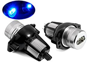 Super Bright Led White Angel Eye Bulbs Marker For BMW E90 E91 3 Series Wagon Sedan