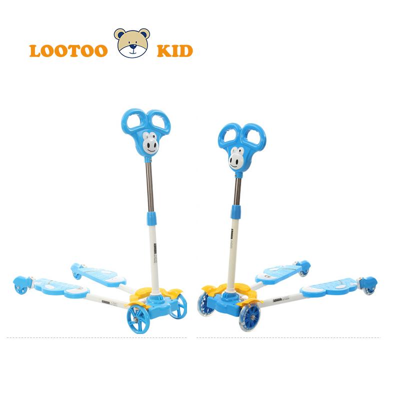 China manufacturers hot sale cheap price custom model frog kids bmx scooter