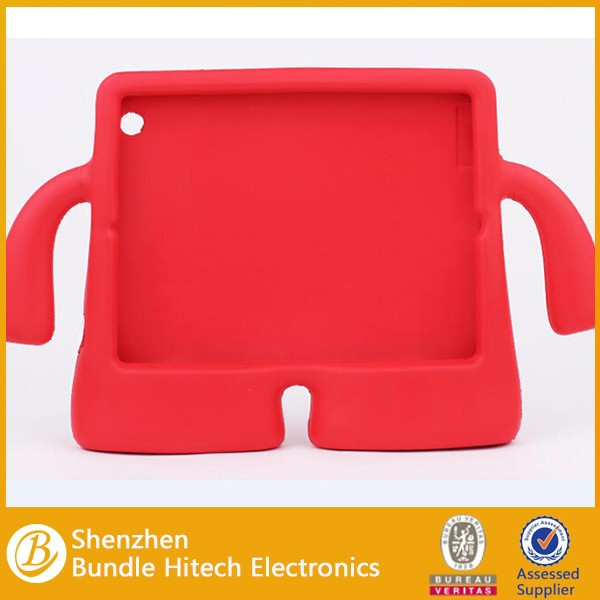 Kids New Design silicon shockproof cover for iPad Mini