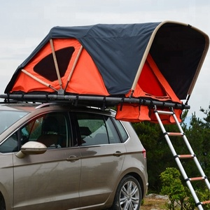Outdoor 4 person camping car top roof tent