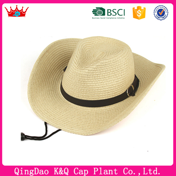 Bulk Straw Folding Cowboy Hat Mexican Style Hats