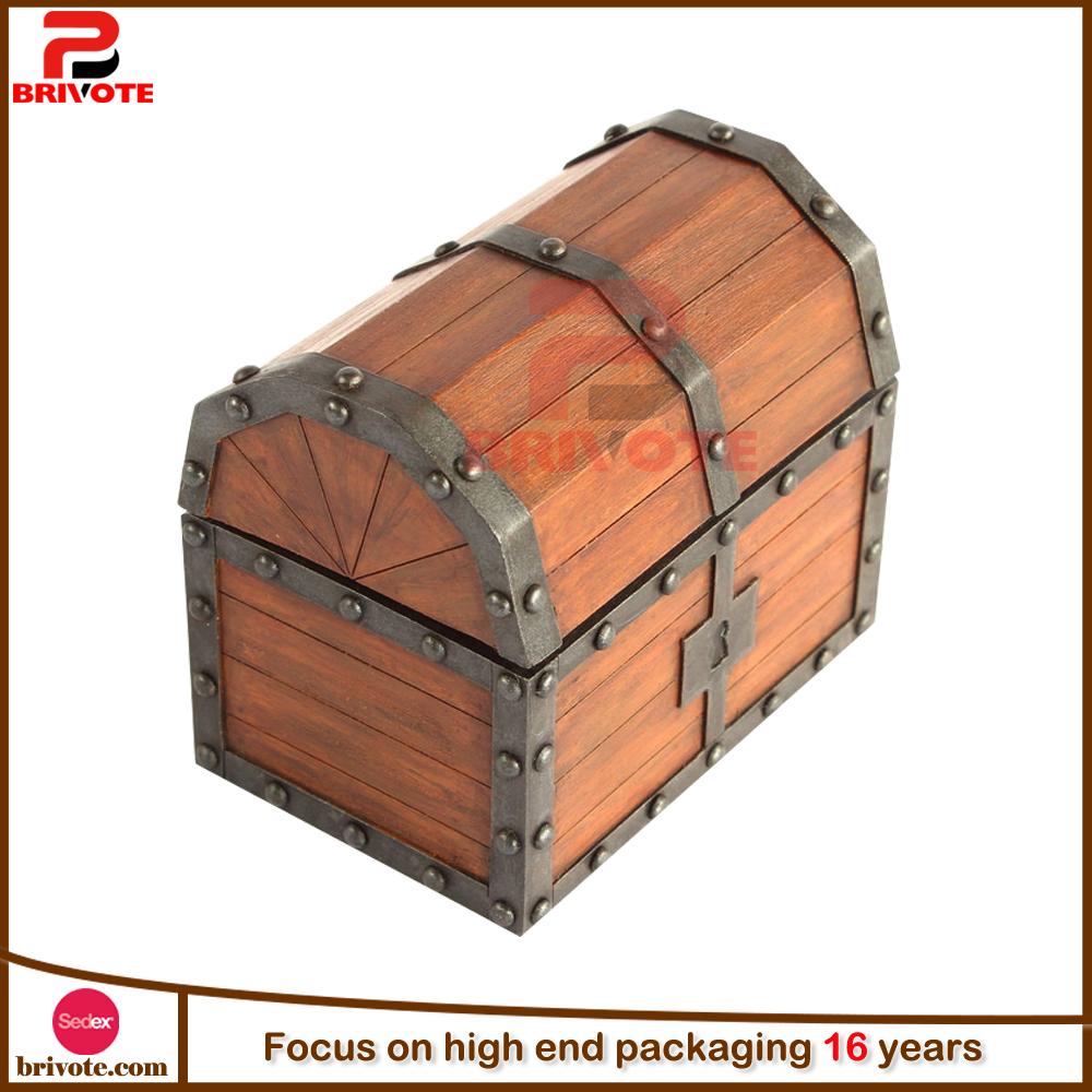 Custom Unfinished Wood Treasure Box Treasure Chest Buy