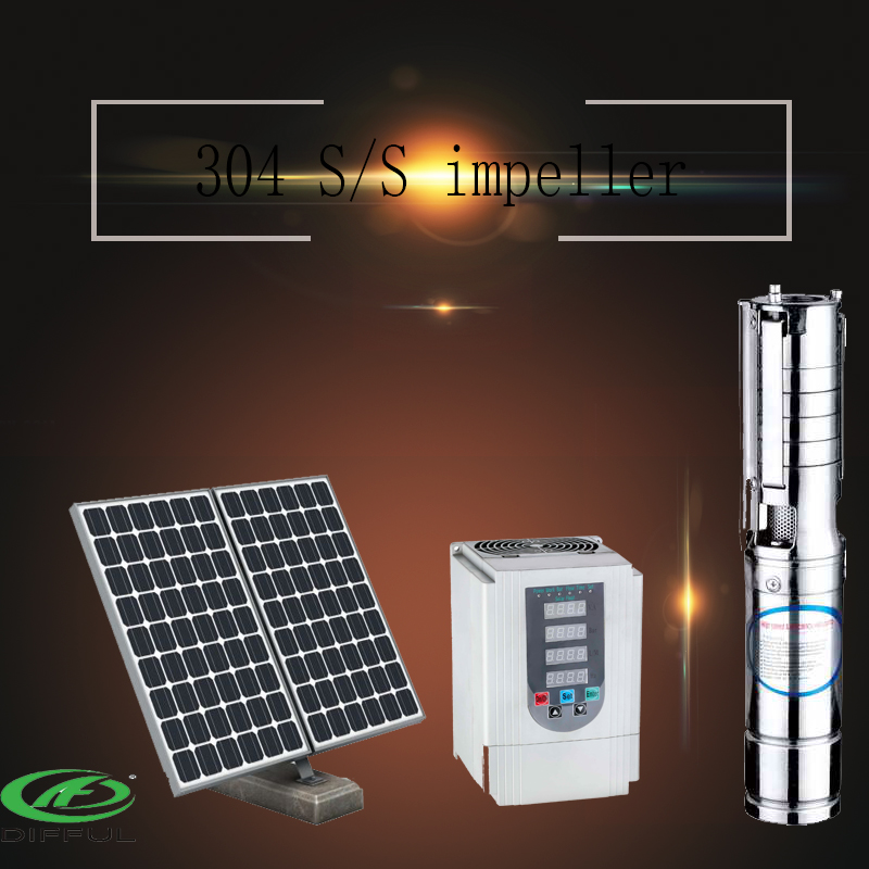 permanent magnet pump solar irrigation water pump
