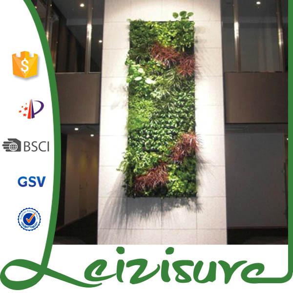 Verticale tuin systeem decoratieve groene wandpanelen for Verticale tuin systeem