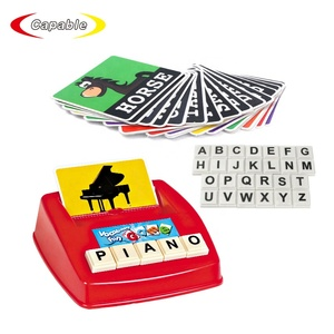 Educational toys english word learning spelling matching board games