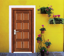 wooden door polish design JDS-FC02