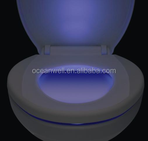 American Standard Elongated Led Nightlight Wc Toilet Seat