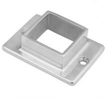 Custom-Made ISO9001 BV SGS Railing Stainless Steel Square Base Flange/Square Flange