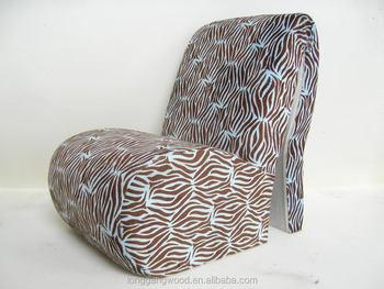 Plush Baby Animal Sofa Chair High Heels Kids Salon