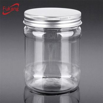 16 Oz Plastic Container500ml Thick Wall Pet Packaging Jar With