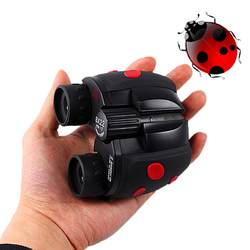 BAIGISH Binoculars 8x22 Cute Beetle Kids Telescope Outdoors Gift for Children Christmas Compact Size Lightweight 126m/1000m