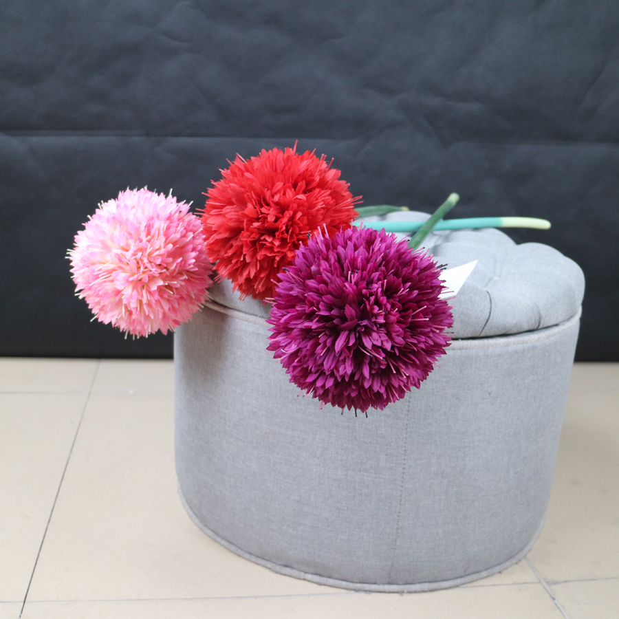 Factory Direct Sale Artificial Silk Allium Flowers Buy Artificial