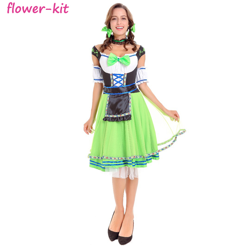 Carnival Beer Girl Costume b8a99f074906