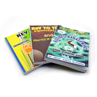 Wholesale professinal printer custom full color cover paperback softcover book printing
