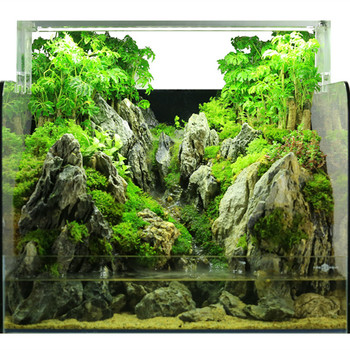 unique design glass fish tank indoor fish aquarium