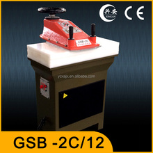 small Hydraulic Swing Arm shoe leather die cutting machine