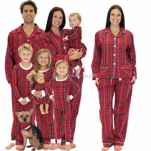 Plaid Flannel Matching Family Pajamas 6b4de95ff