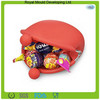 Round shapes candy colors silicone snack bag,silicone coin purse