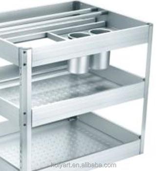 Hot Sale High Quality Aluminium Kitchen Racks - Buy Aluminium Kitchen  Racks,Kitchen Cabinet Dish Rack,Kitchen Unique Dish Rack Product on  Alibaba.com