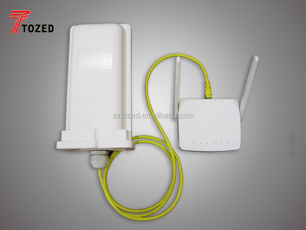 Long range outdoor LTE CPE 4G router di rete wifi antenna esterna 2 km