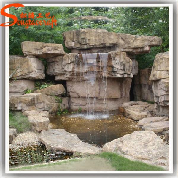 Artificial de interior mini agua fuente decorativa y - Fuentes de piedra artificial ...