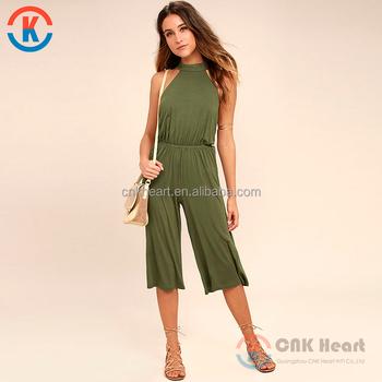 Halter De Moda De Mujeres Sexy Vestido Verde Oliva Midi Mono Buy Mono Midimono Verde Oliva Midimono Midi Sexy Product On Alibabacom