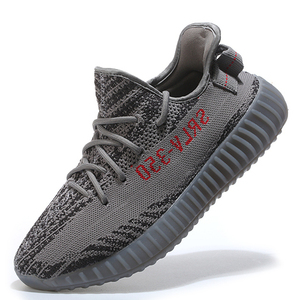f4beebe64a6 fly Knits Mesh zebra 350 Running v2 Sports Sneakers yeezies Shoes Gym  Walking Footwear For Mens