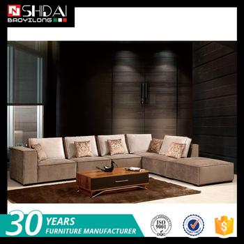 Truscotti Cafe 4 Piece Ultra Plush Modular Sectional Sofa Contemporary Fabric Loveseat G1112