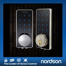 Digital Electronic Keypad Glass Balcony Smart Door Lock
