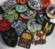 custom pvc patches no minimum wholesale pvc patches security,pvc patch logo