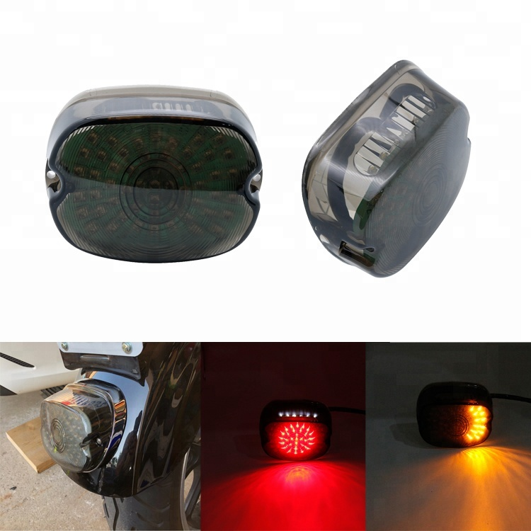 Motorbike Tail Lamp Accessories Led Tail Light Motorcycle For Harley Touring Road Glide Sportster XL 1200S