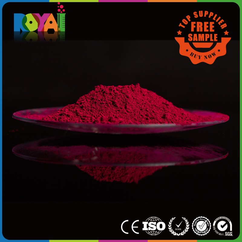 Royai Colors Offset inks usage Pigment Red 122 for inks coatings paint plastic printing pigment