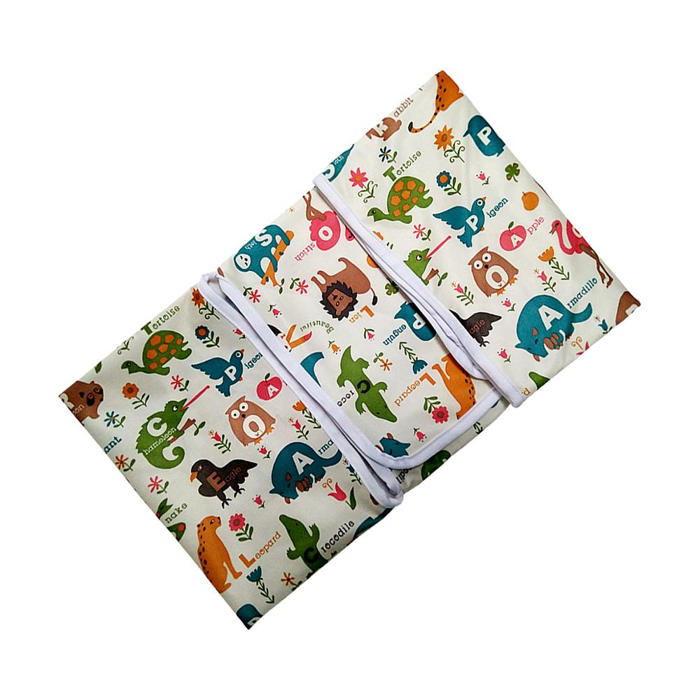 Portable Baby Diaper Changing Mat Waterporoof Change Hooded Changer With Handle For Travel Trip