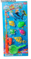 Plastic Toys , Fishing Game Toy Set ,Summer baby toys kids fishing game toys