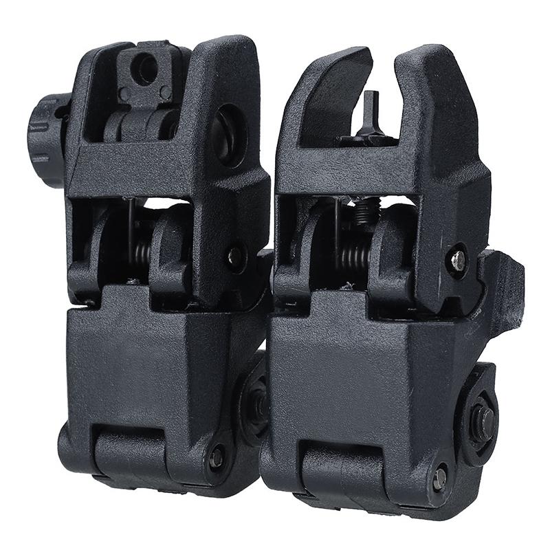 AR-15 Front Rear Sight Rapid Transition flip up Sight AR Sights фото