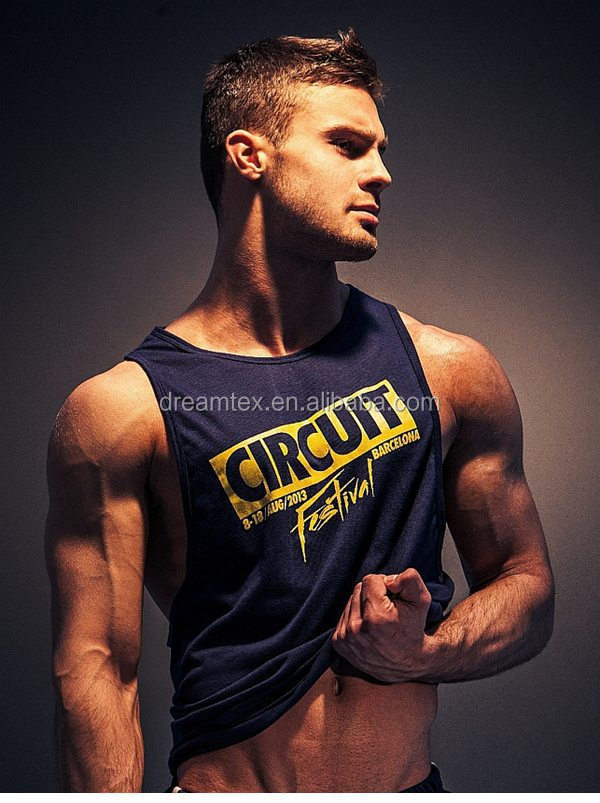 High quality custome design wholesale sport tank top men gym