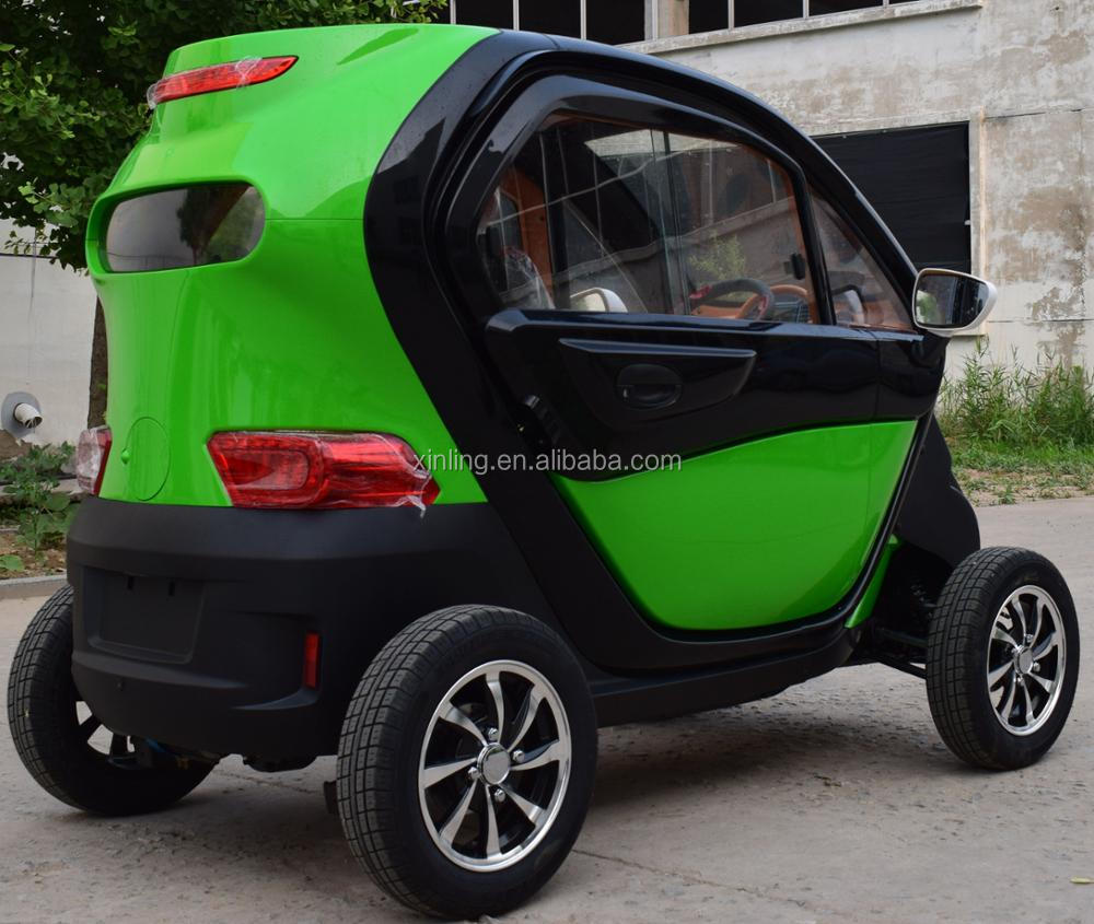 Electric Enclosed Cabin Adult Family Mini Smart Car Four Wheel Mobility Disabled