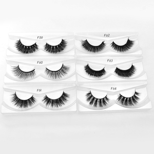 Whosale price real mink eyelashes vendor custom packaging box private label lashes eyelashes mink