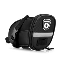 2018 Strap-On Splashproof Saddle Bike Bag Bicycle Seat Bag with Straps,