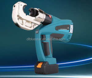 High quality BZ-400 battery powered hydraulic crimping cable tool 16-400mm2 350 degree
