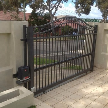 Courtyard Aluminum Sliding Gate Designs Buy Front Gate