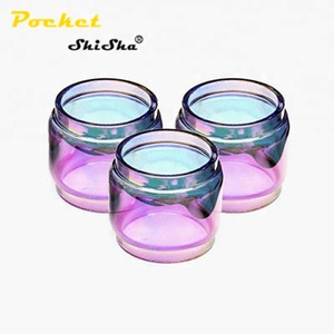 Pocket Shisha Trending products Pyrex Replacement Glass For Electronic Cigarette TFV12 Prince Cobra
