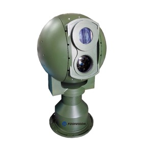OEM long range Rotary Pantilt Electro Optics thermal camera for forest fire alarm
