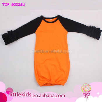 Pictures Of Latest Gowns Designs Baby Infant Cotton Long Sleeve ...