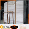 High-end hotel beautiful tile wooden marble slab price