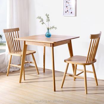 Restaurant Furniture Wooden 2 Seat