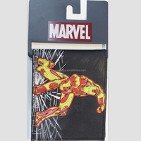 Marvel logo Wallet action figure Iron man/Captain America/Spiderman/hulk/deadpool Purse