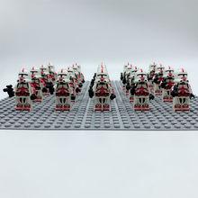 20 шт./лот Звездные войны Игрушка S TROOPER Клон TROOPER набор совместимый Legoe Галактическая Империя блоки малыш(Китай)